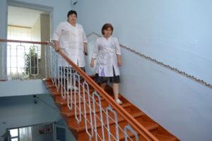 В здании скорой медицинской помощи завершен  ремонт