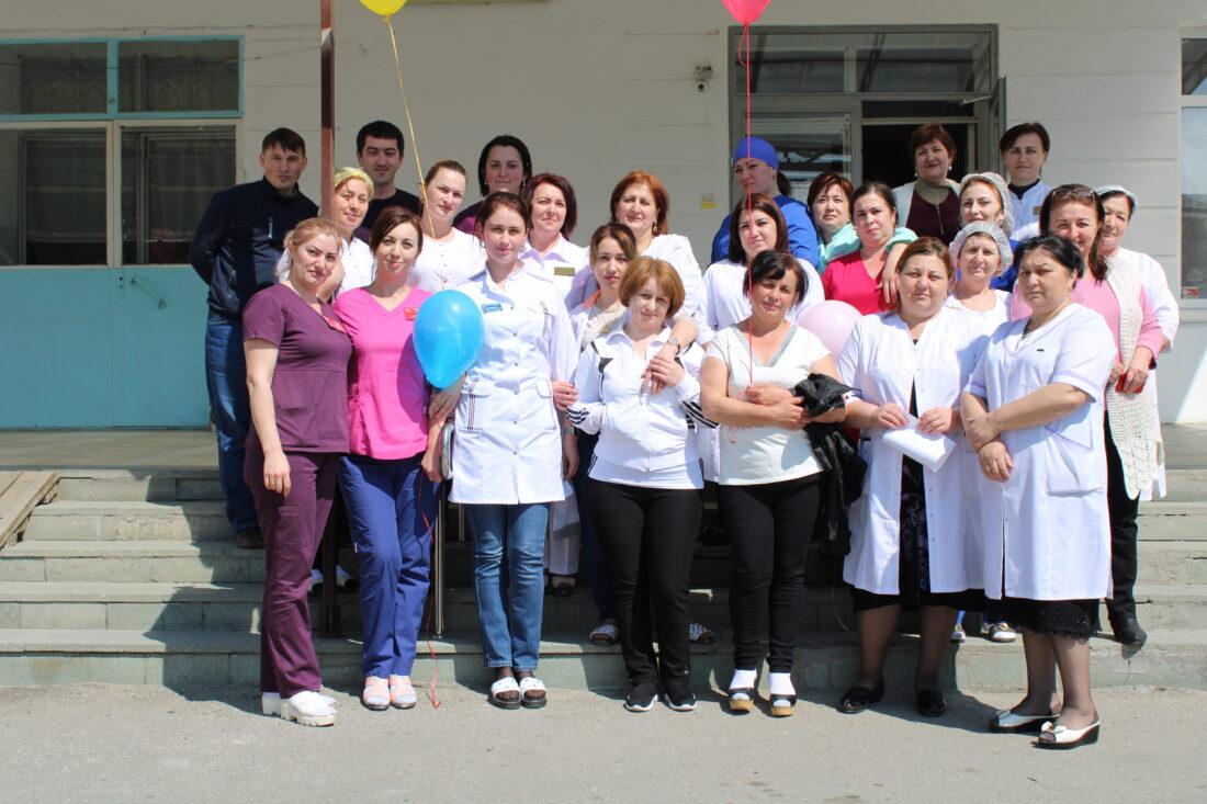 Всемирный день здоровья отметили медработники ММБ